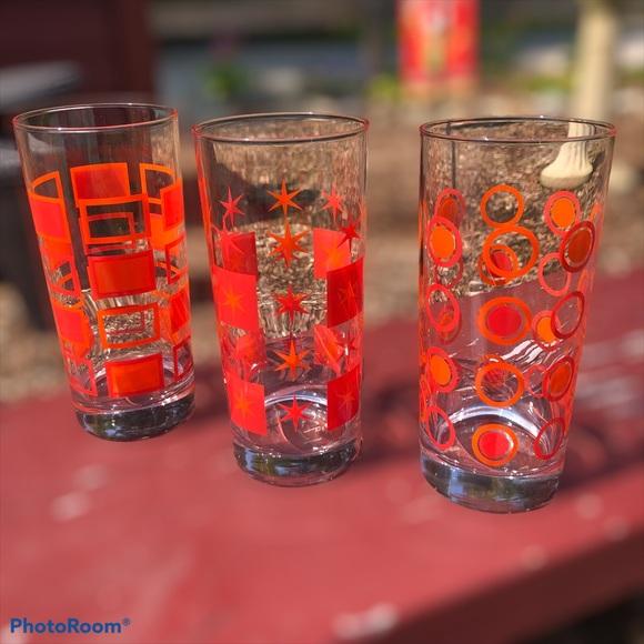 Mid century modern starburst circle square glasses